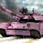 Гламурный танк